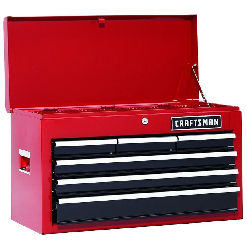 Craftsman 6 Drawer Tool Chest Review [Pros & Cons]