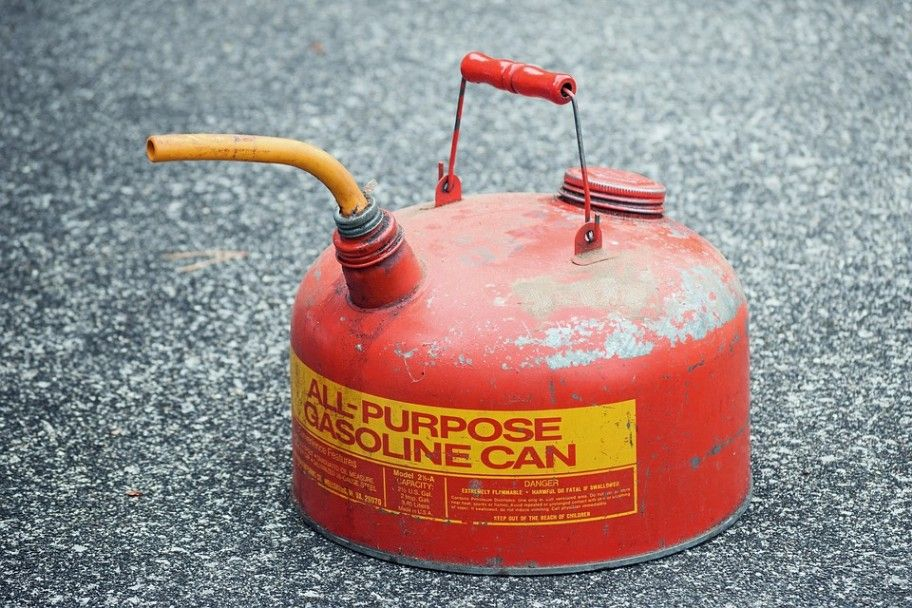 Dispose of Old Gas Can
